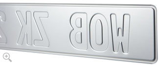 Authentic Aluminum License Plates