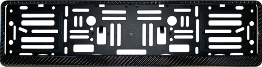 Carbon Fiber Euro Style License Plate Frame
