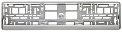 Chrome European License Plate Frame