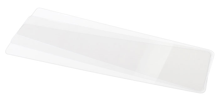 Clear Euro License Plate Cover/Shield - (Pack of 3)