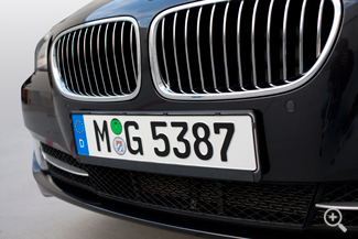 Customized German License Plate