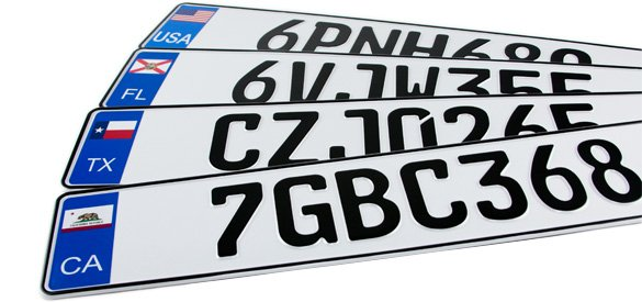 Euro License Plate >> European License Plates Custom European License Plates