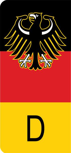 European License Plates Custom European License Plates Eec German License Plate With Coat Of