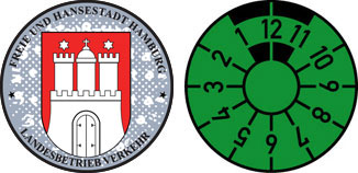 Hamburg Registration Seal Set