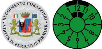 Italy Corazzieri (Military) Registration Seal