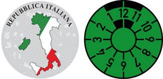 Italy Country Profile Registration Seal