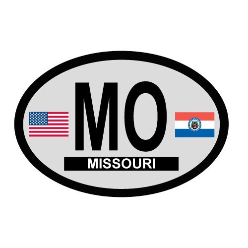 Missouri Oval Decal