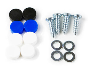 Package of Screws and Caps