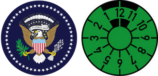US Seal Registration Seal Set