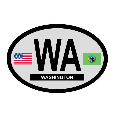 Washington Oval Decal